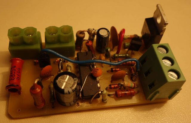DRL controller PCB board РХО РХО-22